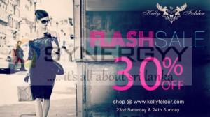 Kelly Felder Flash Sales 30% off on 23rd & 24th February 2013