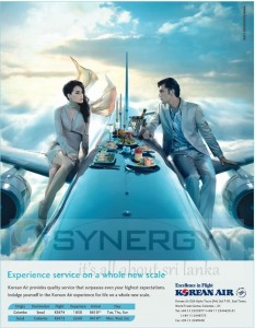 Korean Air Trice a Week to Srilanka