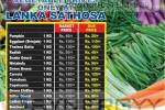 Lanka Sathosa Lowest Prices for Vegetable