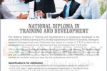 National Diploma in Training and Development – IPM