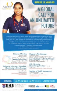 Nursing, Physiotherapy and Health Management Degree Programmes in Sri Lanka