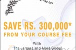 Rs. 300,000 Scholarship for Raffles for Institute of Higher Education
