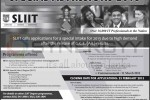 SLIIT Degree Programme- Admission 2013