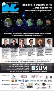 SLIM International Marketing Conference 2013