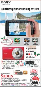 Sony Cyber Shot DSC-W620 for Rs. 19,990.00