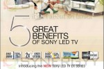 Sony LED TV New Prices for February 2013