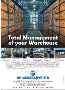 Total Management of your Warehouse with DP Logistics