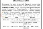University of Jaffna 28th General Convocation – 28th February 2013
