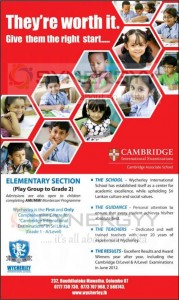 Wycherley International School Admissions for the Elementary Section – Open Now