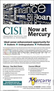 Chartered Institute for Securities & Investment (CISI) Now at Mercury
