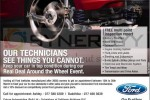 10% off on Ford Genuine Spare Parts from 15th to 30th March 2013
