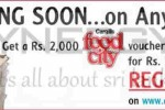 Cargills Food City Rs. 2,000.00 Worth of Voucher for Rs. 1,000.00 only on Anything.lk