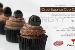 Choco Luv Oreo Surprise Cup Cake for Rs. 170.00