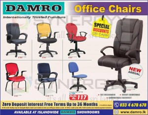 Damro Office Chairs Special Offers – March 2013