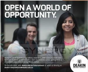 Deakin University of Australia - Open a world of opportunity