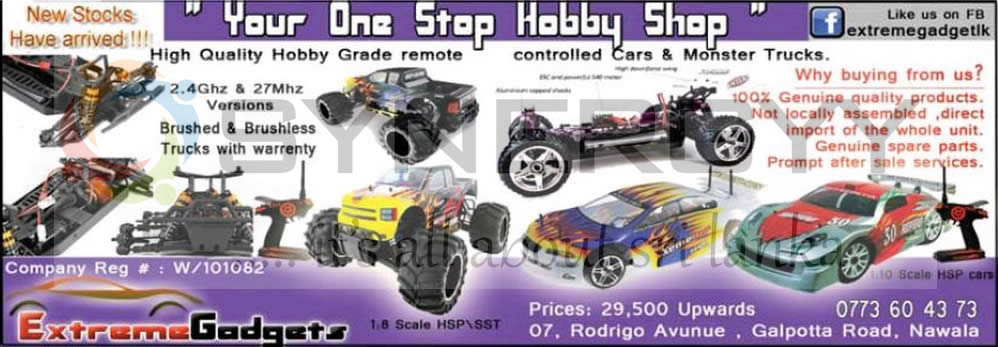 Extreme Gadgets Rc Cars And Monster Trucks In Srilanka Synergyy