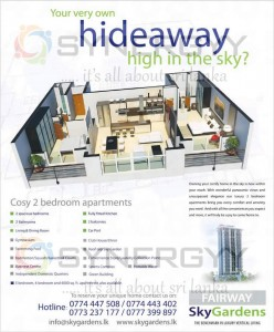 Fairway Sky Gardens – Condominium apartments in Sri Lanka