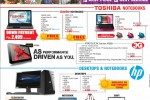 HP, Dell, Toshiba Laptop for Sales – New Year Promotion from Abans