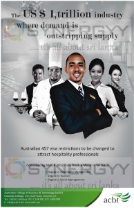 Hospitality Degrees in Sri Lanka from ACBT