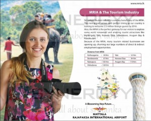 MRIA & the Tourism Industry of Sri Lanka