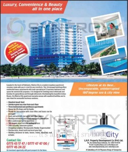 Marine City Luxury Apartment for Sale on Dehiwala