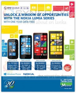 Nokia Lumia 510, 620, 920, 820 Offers from Mobitel