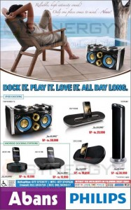 Philips Audio and Docking Solutions special Prices for Pre New Year
