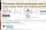 Purchase travel packages and air tickets at cash price with American Express Credit Card – offer valid till 30th April 2013