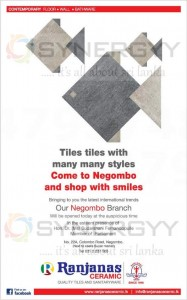 Ranjanas Ceramic now at Negombo