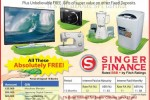 Singer Finance Fixed Deposits Interest Rates and Free Gifts till Sinhala/Tamil New Year