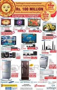 Softlogic New Year offers – March April 2013