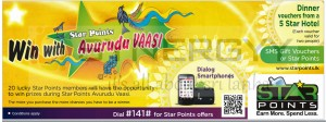 Star Points Win with Avurudu Vaasi - Sinhala Tamil New Year offer 2013
