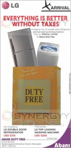 Abans Duty Free Prices in Sri Lanka – April 2013