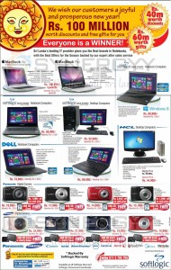 Apple MacBook Pro, Macbook Air, Softlogic Maxmo Laptops and Cameras Special promotion – Valid till 30th April 2013