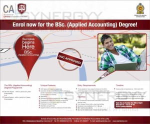BSc. (Applied Accounting) Degree from ICASL – Applications calls now