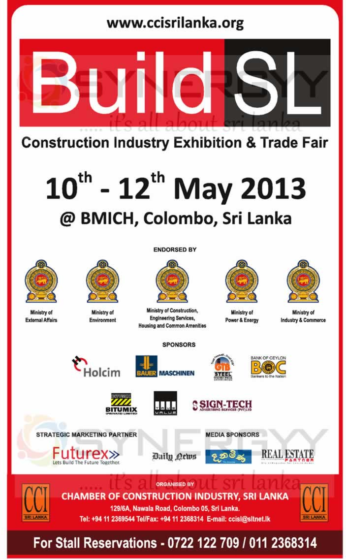 Exhibition Stall Builders In Sri Lanka : Build sri lanka a construction industry exhibition trade