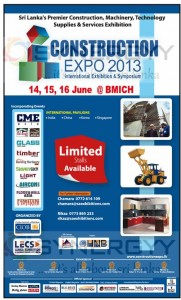 Construction Expo 2013 Stall Booking Open now- April 2013