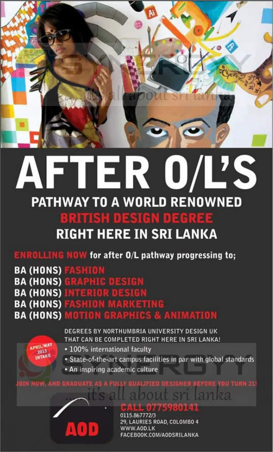 Designing Degree Programme In Sri Lanka For After OLs