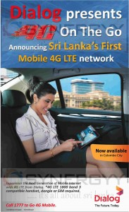 Dialog 4G Mobile Service Now in Colombo Srilanka
