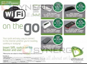 Etisalat Wi-Fi Offers in Sri Lanka – April 2013