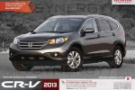 Honda CR V 2013 for Rs. 6,300,000.00 for Permit Holders – April 2013