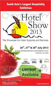 Hotel Show 2013 in Sri Lanka