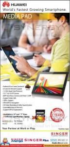 Huawei MediaPad 7Lite and 10 FHD Prices and Features in Sri Lanka – April 2013