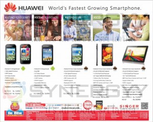 Huawei Smart Phone New Year 2013 Offer in Sri Lanka – April 2013