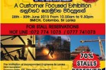 INCO 2013 Exhibition at BMICH – Stalls Available for Reservation
