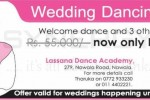 Lassana Flora Wedding Dancing Group for Rs. 38,500.00 only – April 2013