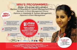 MSU Degree and Diploma Programme in Sri lanka
