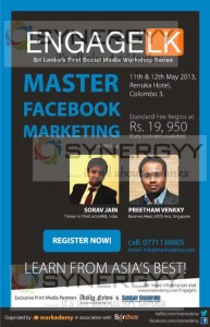 Masters of Facebook Marketing – 11th & 12th May 2013