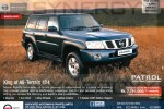 Nissan Patrol 3000cc Diesel Turbo Intercooler for USD 40,000.00 for Permit Holder – April 2013