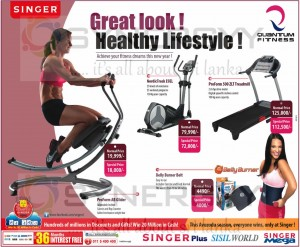 Quantum Fitness Healthy Lifestyle Promotion in April 2013